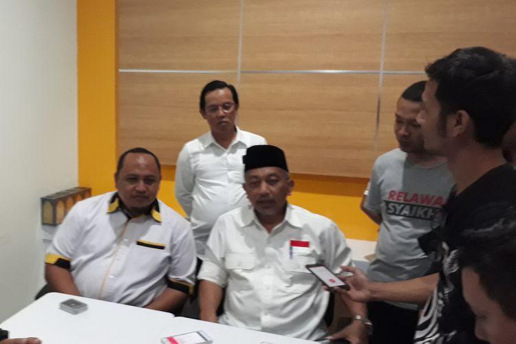 Wali Kota Bekasi yang juga calon gubernur Jawa Barat 2018, Ahmad Syaikhu, saat berkunjung ke Kantor DPD PKS Kota Bogor, Kamis (7/12/2017).