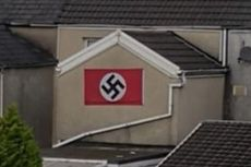 Pasang Bendera Swastika di Rumahnya, Pria Berusia 55 Tahun Ditahan