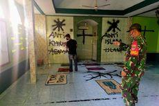 Pelaku yang Coret Dinding dan Sobek Al Quran Tinggal Tak Jauh dari Mushala, Usianya 18 Tahun