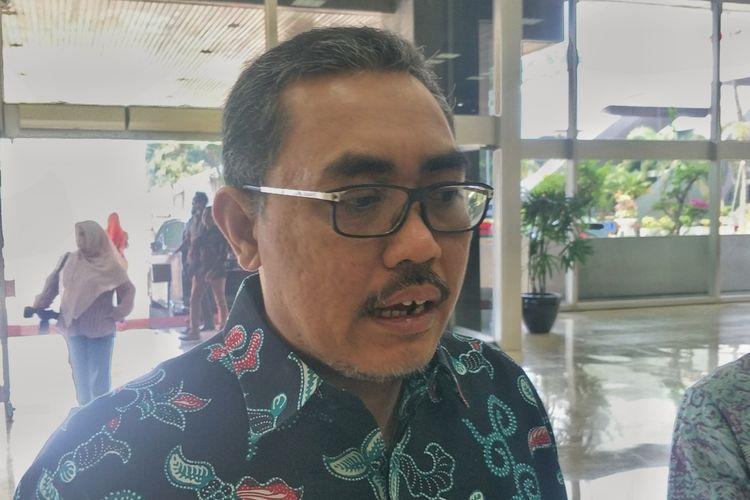 Wakil Ketua MPR dari Fraksi PKB Jazilul Fawaid saat ditemui di Kompleks Parlemen, Senayan, Jakarta, Selasa (8/10/2019).