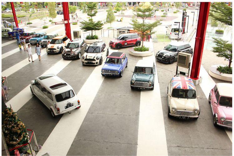 Indonesia Mini Day 2018 diselenggarakan sebagai tempat berkumpulnya para penggemar mobil MINI