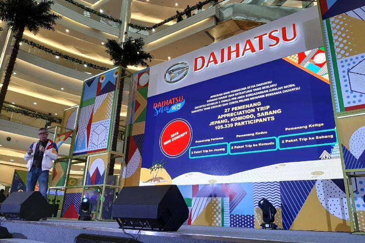 Pemenang Daihatsu Setia 2019