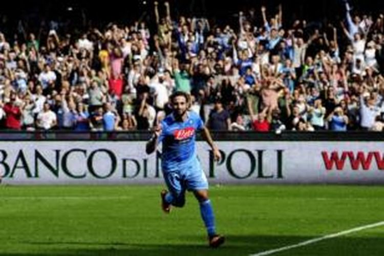 Striker Napoli, Gonzalo Higuain.