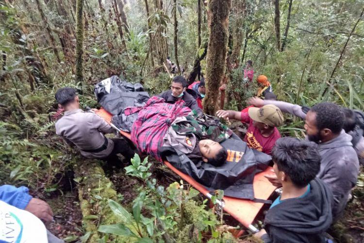 Jumadi, korban selamat yang dievakuasi dari lokasi jatuhnya pesawat Demonim Air