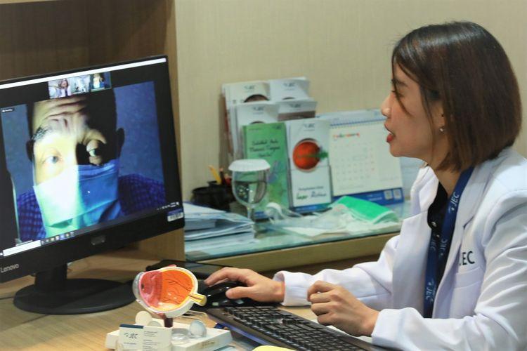 Ilustrasi telemedicine.