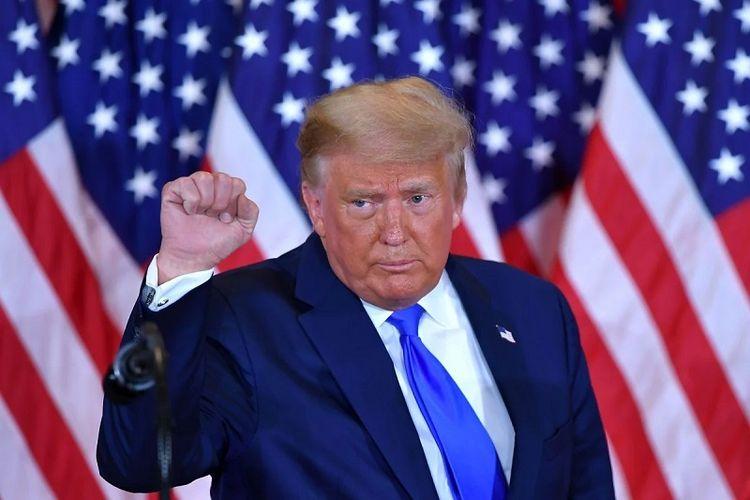Presiden Amerika Serikat Donald Trump