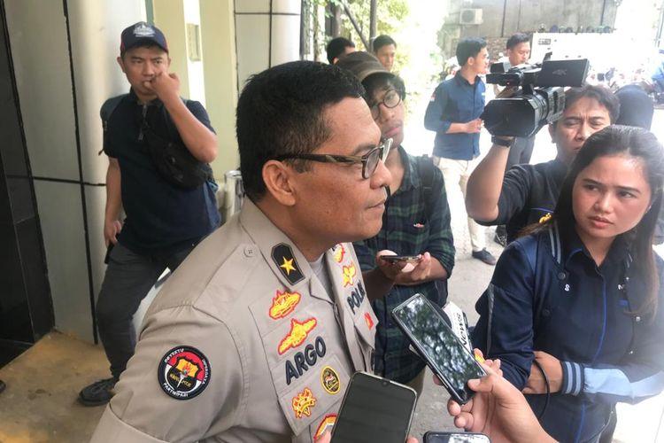 Kepala Biro Penerangan Masyarakat (Karopenmas) Divisi Humas Polri Brigjen (Pol) Argo Yuwono di Kantor Komnas HAM, Jakarta Pusat, Senin (17/2/2020).