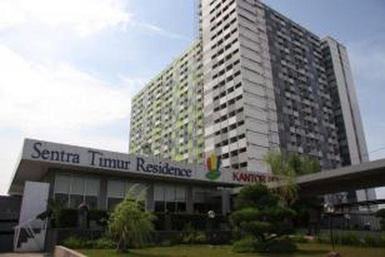 Tingkat hunian apartemen selama cuti bersama Idul Fitri 2013 anjlok lebih dari 50 persen.