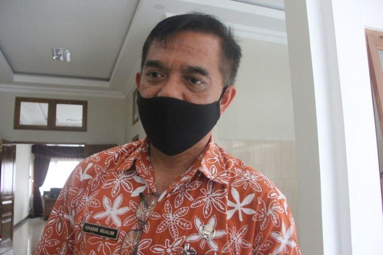 Sekretaris Dinas Kesehatan Kabupaten Temanggung, Khabib Mualim, ditemui Senin (1/2/2021).