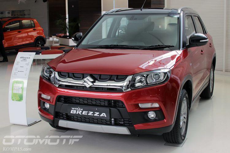 Suzuki Vitara Brezza di India dijual di diler Arena.