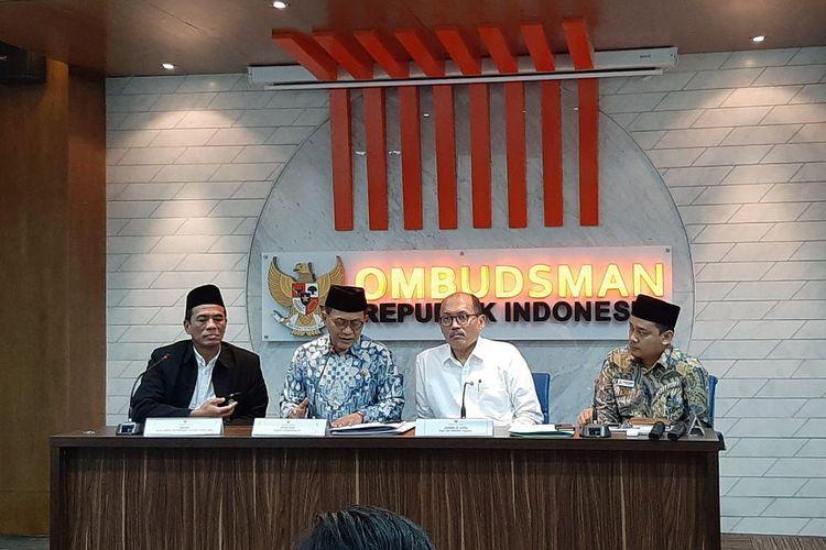 Ombudsman dan Kemenag