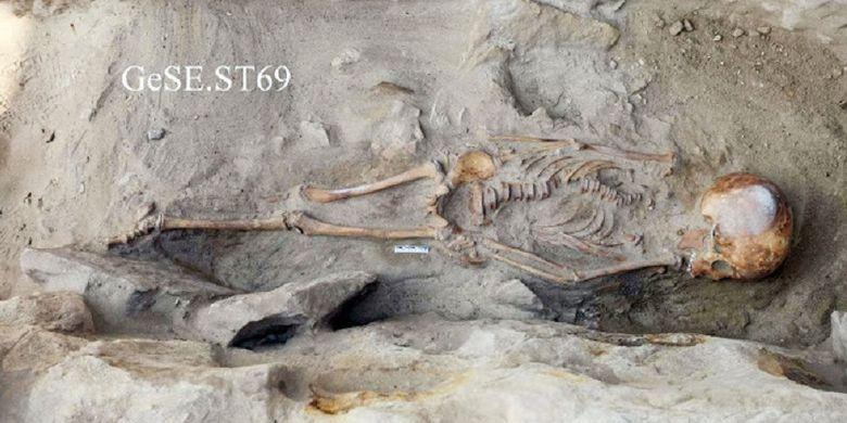 Makam anak Mesir kuno ditemukan di daerah tambang