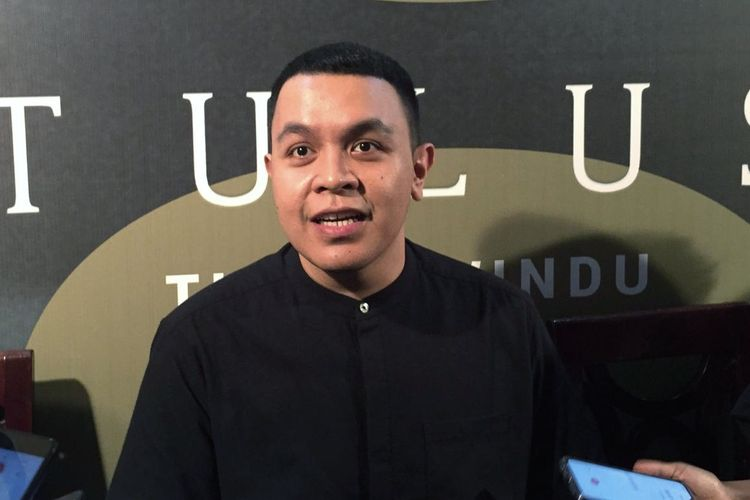 Penyanyi Muhammad Tulus dalam jumpa pers Tur dan Festival Sewindu Tulus di kawasan Menteng, Jakarta Pusat, Rabu (4/9/2019).