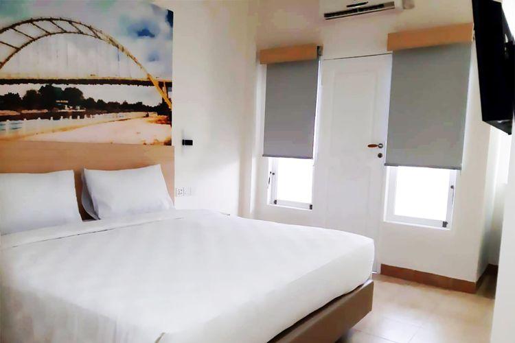 Kamar di Cordex Oase Hotel Pekanbaru.