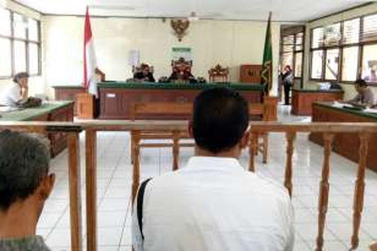 Sidang kedua praperadilan kasus dugaan penghinaan Gubernur Bali Made Mangku Pastika, PN Denpasar, Selasa(22/11/2016)