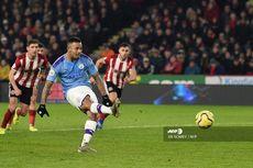 Sheff United vs Man City, Alasan VAR Tak Meminta Penalti Gabriel Jesus Diulang