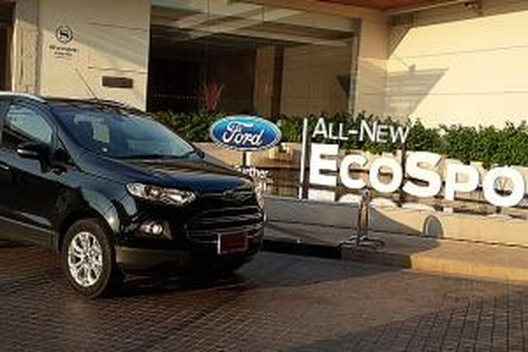 Ford Ecosport versi Ecoboost untuk Indonesia masih dipertimbangkan