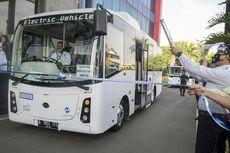 Realisasi Bus Listrik TransJakarta Ditargetkan Rampung 2030