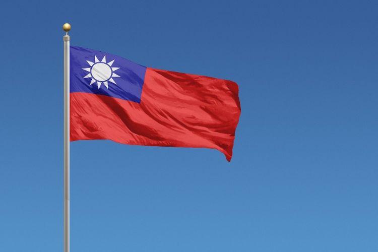 Bendera Taiwan.