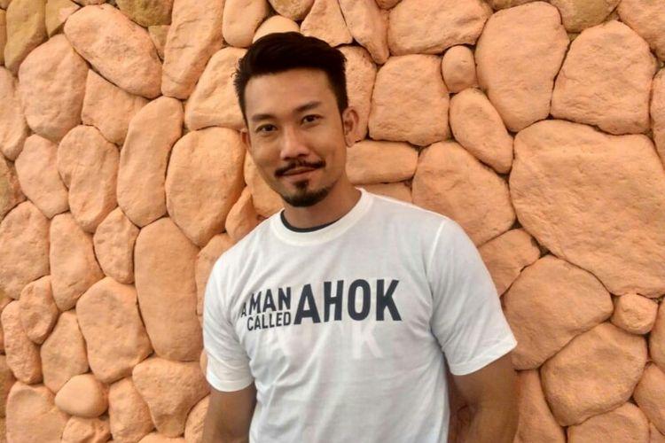 Artis peran Denny Sumargo saat ditemui dalam wawancara eksklusif di kawasan Menteng, Jakarta Pusat, Rabu (7/11/2018).