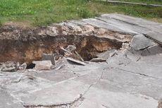 Gempa Magnitudo 4,9 di Maluku Tengah, 1 Rumah Warga Ambruk