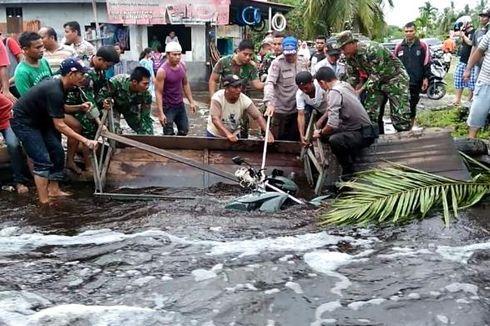Banjir Aceh Singkil, PU Pasang Jembatan