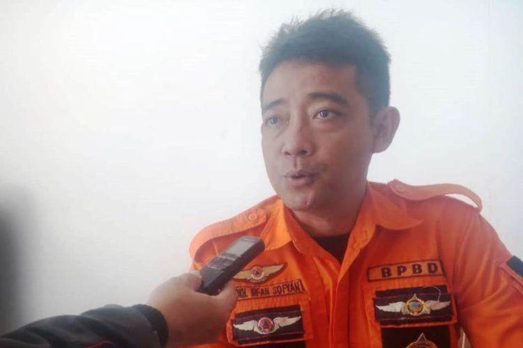 Sekretaris Badan Penanggulangan Bencana Daerah (BPBD) Cianjur Mokhamad Irfan Sofyan