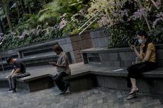 Ada Aturan Safe Distancing, Warga Singapura Didenda Rp 111 Juta jika Tak Jaga Jarak Minimal 1 Meter
