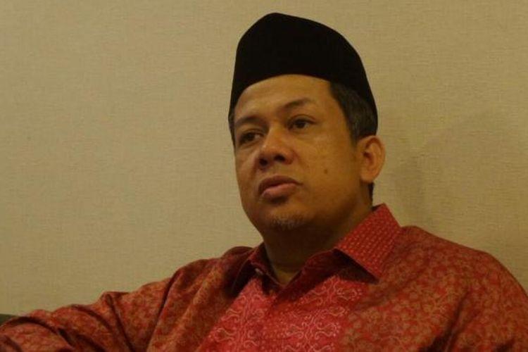 Wakil Ketua DPR RI Fahri Hamzah di Kompleks Parlemen, Senayan, Jakarta, Selasa (14/3/2017).