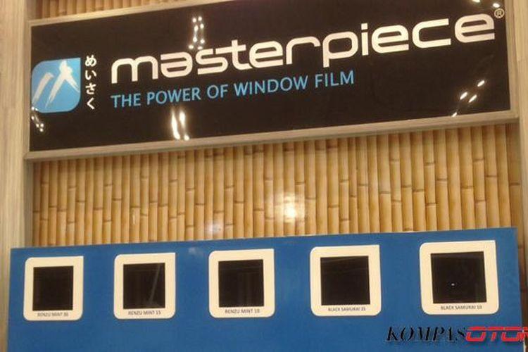 Kaca Film Masterpiece dari Jepang dengan harga yang terjangkau.