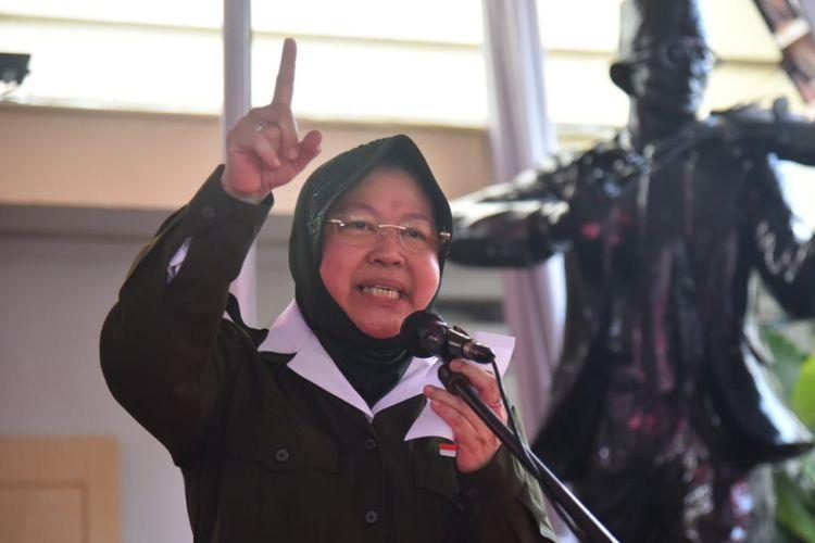 Wali Kota Surabaya, Tri Rismaharini.