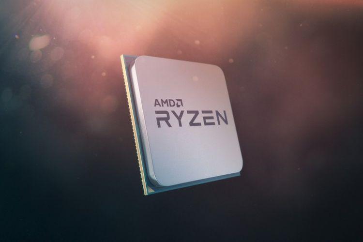 Ilustrasi prosesor AMD Ryzen