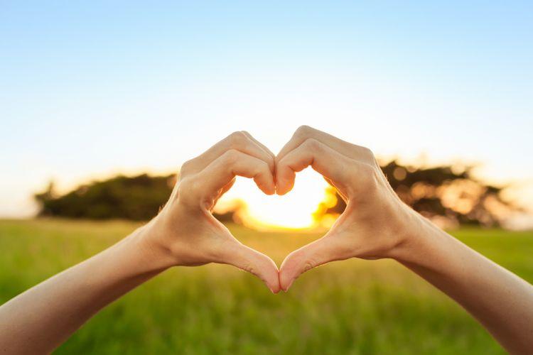 Ilustrasi jantung sehat