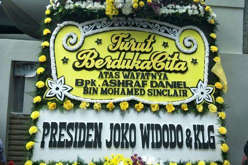 Kirim Karangan Bunga, Presiden Jokowi Turut Berduka atas Meninggalnya Ashraf Sinclair