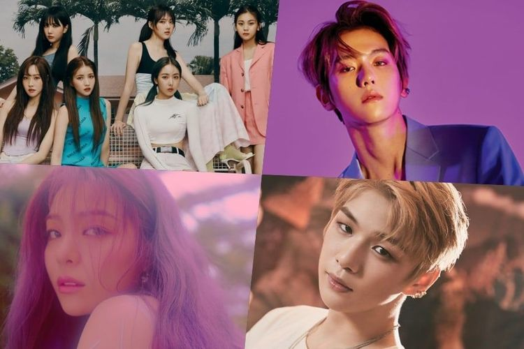 Sejumlah idola K-pop yang dikabarkan comeback dan debut pada Juli 2019.