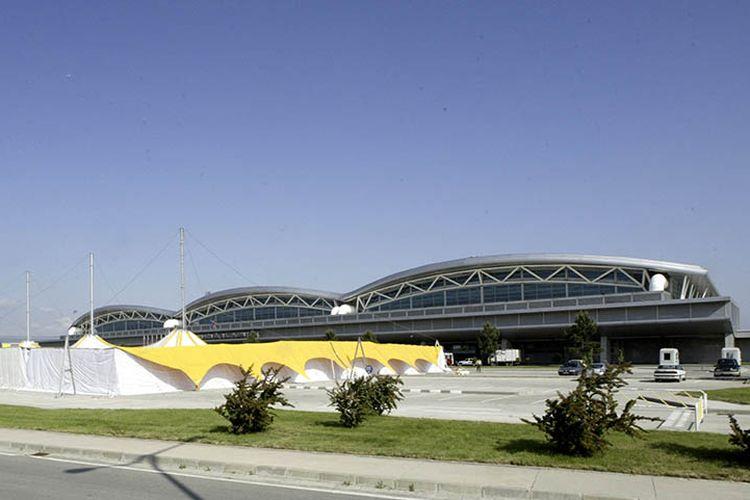 Bandara Sabiha Gokcen di Istanbul, Turki.