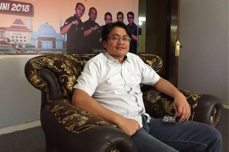 Komisioner KPU Kota Tangerang Divisi Perencanaan dan Data Ahmad Syailendra
