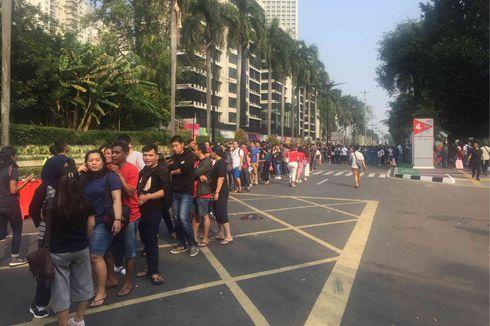 Pemegang E-tiket Asian Games Tak Perlu Lagi Tukar Tiket Saat Masuk GBK