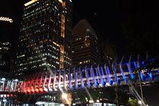 """Peringatan """"Earth Hour"""", Lampu 3 JPO Instagramable di Jakarta Dipadamkan"""