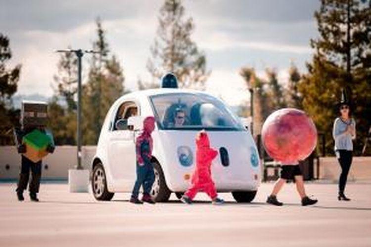 Mobil tanpa awak Google diklaim lebih aman untuk anak-anak