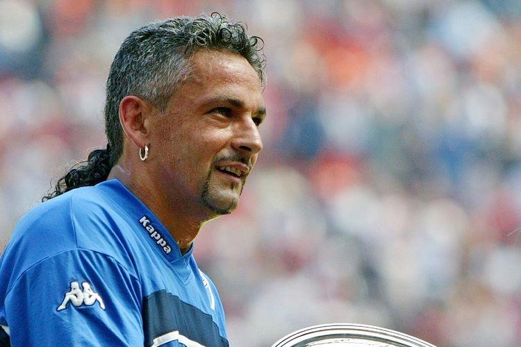Mantan pemain timnas Italia, Roberto Baggio.