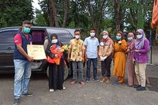 Negatif Covid-19, Ibu dan Bayi Laki-laki yang Dilahirkan di RSLI Surabaya Dijemput Keluarga