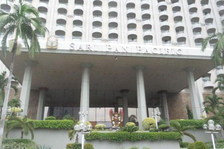 Hotel Sari Pan Pacific, di Jalan MH Thamrin, Jakarta Pusat.