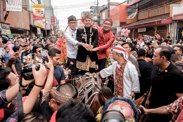 Bogor Street Festival Cap Go Meh (CGM) 2020 berlangsung sukses dan meriah. Pemprov Jabar akan kucurkan dana Rp 30 miliar untuk CGM tahun depan.