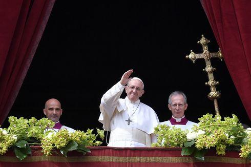 Pesan Paskah, Paus Fransiskus Doakan Perdamaian di Korea dan Suriah