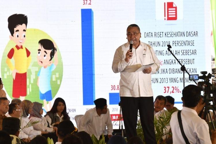 Menteri Desa dan PDTT, Eko P. Sandjojo di Kabupaten Bengkulu Utara (poto: Humas Kemendes PDTT)
