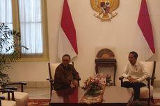 Giliran Ketum PAN Zulkifli Hasan yang Bertemu Jokowi di Istana