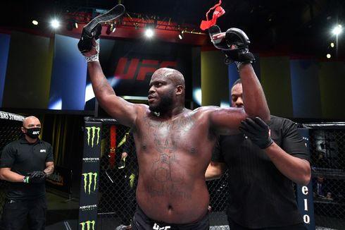 Hasil UFC Vegas 19, Derrick Lewis Pukul KO Petarung Ranking 2 Kelas Berat