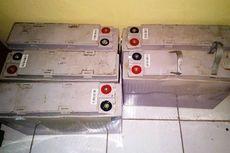 Komplotan Pencuri Baterai BTS Lintas Kabupaten Dibekuk di Cianjur