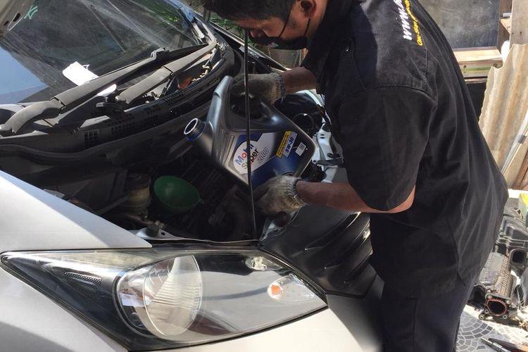 Mobil Lubricants bekerja sama dengan startup otomotif terkemuka Brum.id, memberikan layanan servis di rumah.